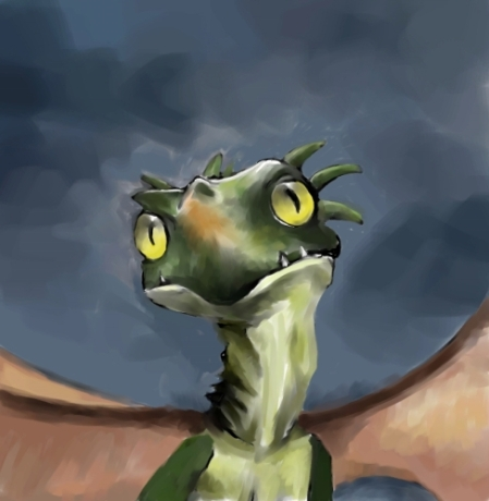 Little Dragon (Corel Painter X)