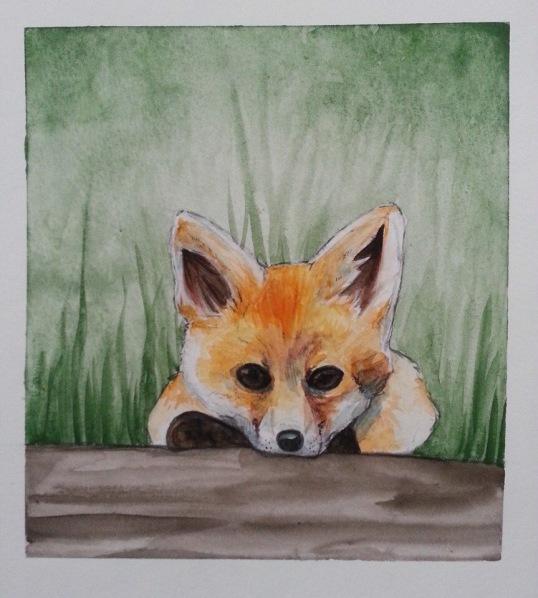 Füchschen (Watercolour)